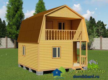 Дачный домик 6х6