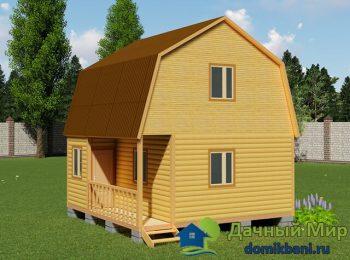 Садовый домик 6х6