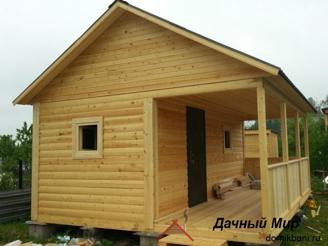 Построили баню в Туле