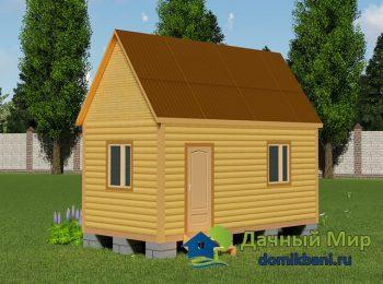 Дачный дом 6х3