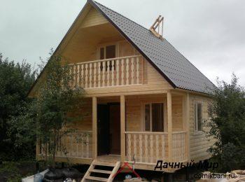 Строительство бани в Чехове