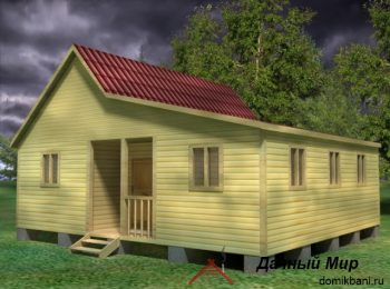Дом 8х9 одноэтажный