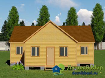Одноэтажный дом 9х11
