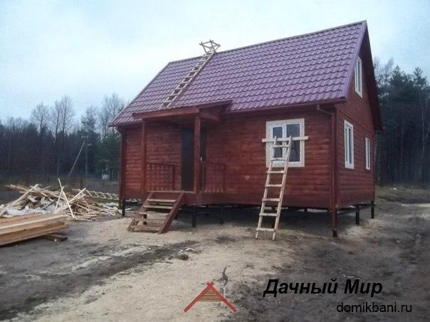 Построили дом в Домодедово