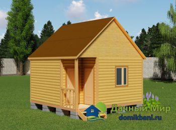 Гостевой домик 5х5
