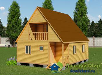 Садовый домик 8х7