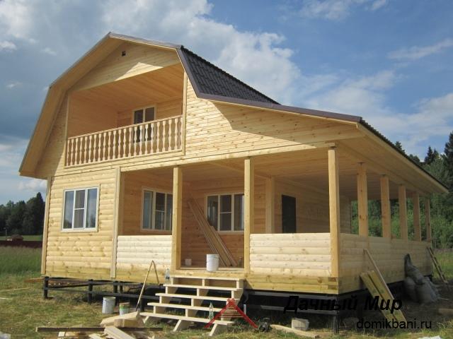Деревянный дом в Озерках