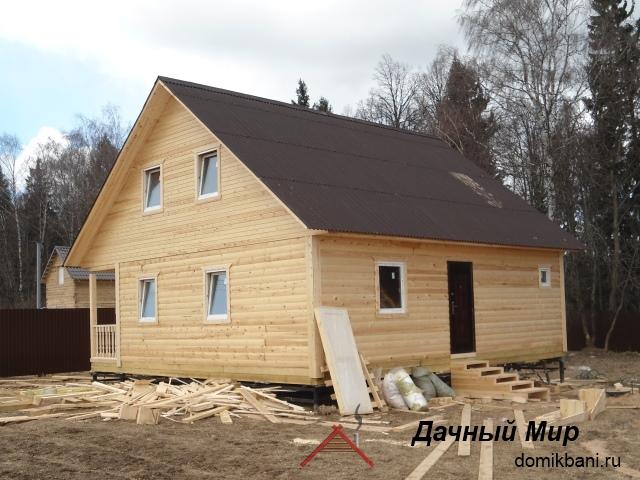 Как мы строим дом в Ногинске
