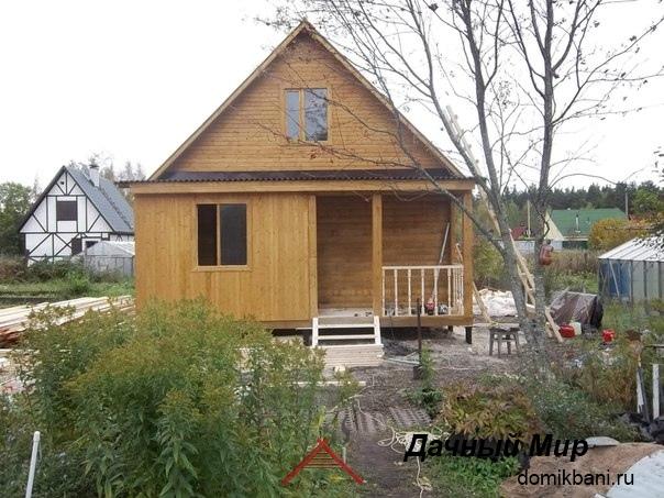 Построили дом в Ступино