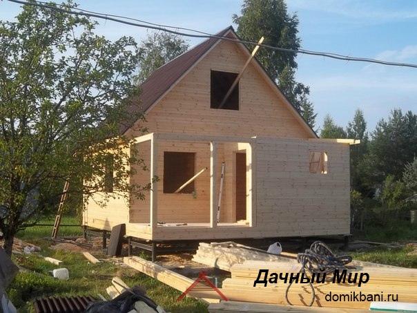Построили дом в Серебряно-Прудском районе