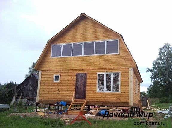 Построили дом в Павлово-Посадском районе