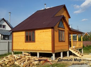 Строительство дома в Тосно