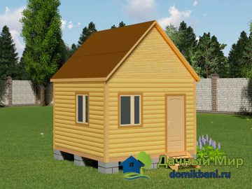 Дачный домик 4х4