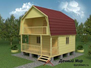 Гостевой дом 6х6