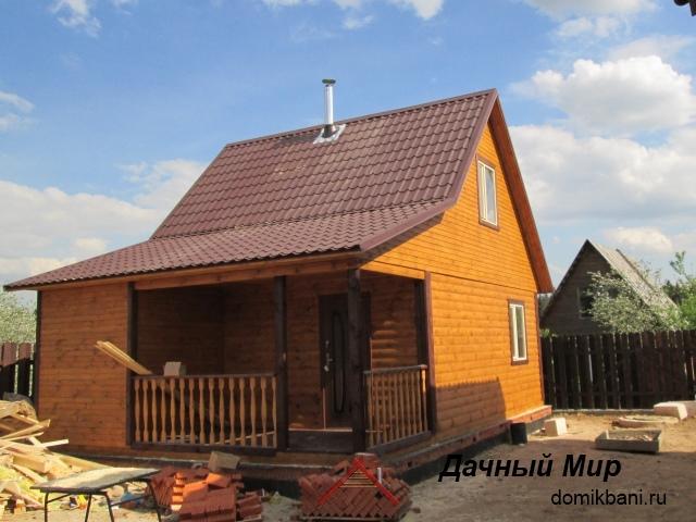 фото построенной бани в Череповце
