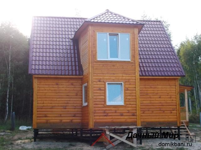 фото дачного дома на сваях