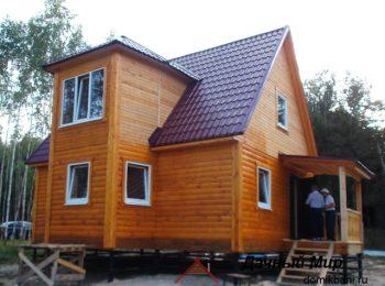 Фотоотчет дома в Одинцовском районе