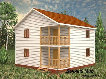 Каркасный дом «Рязань»