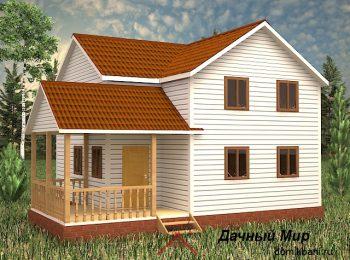 Каркасный дом с завода