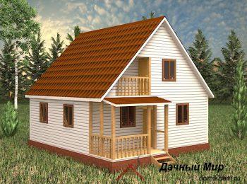 Каркасный дом «Эльбрус»
