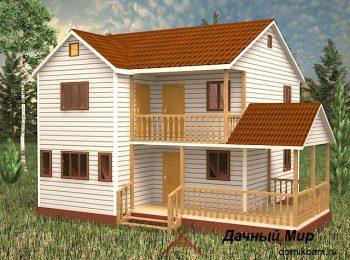 Каркасный дом «Калуга»