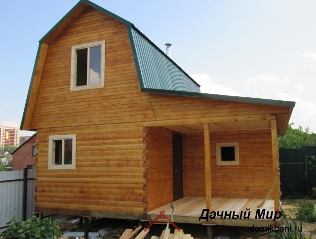 Дом с ломанной крышей