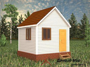 Каркасный дом 4х4