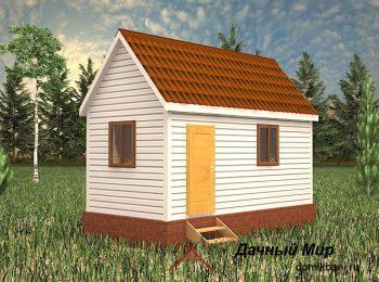 Каркасный дом за 300 тысяч рублей