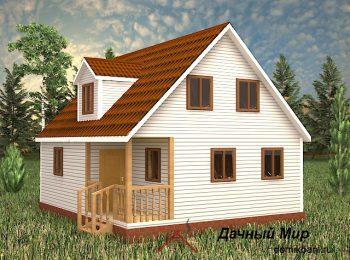 Каркасный дом «Тверь»