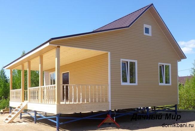 Каркасный дом в Коломне