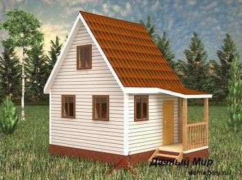 Каркасный дом 5 на 4