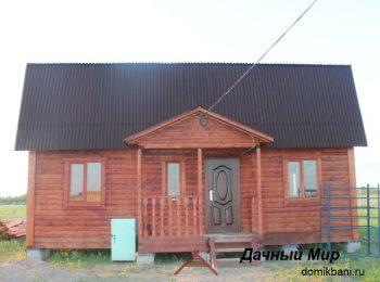 Построенный дом 7х9