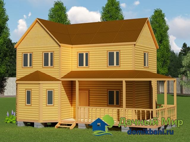 Дом 7х12 двухэтажный