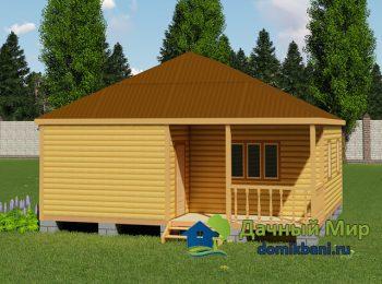 Дом с вальмовой крышей