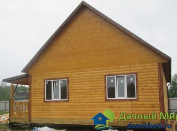 Построили дом из бруса в Тихвине