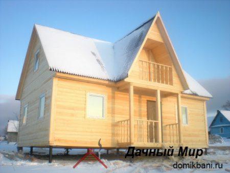 Построен дом