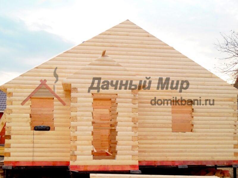 Загородный дом из бруса в Калининском районе