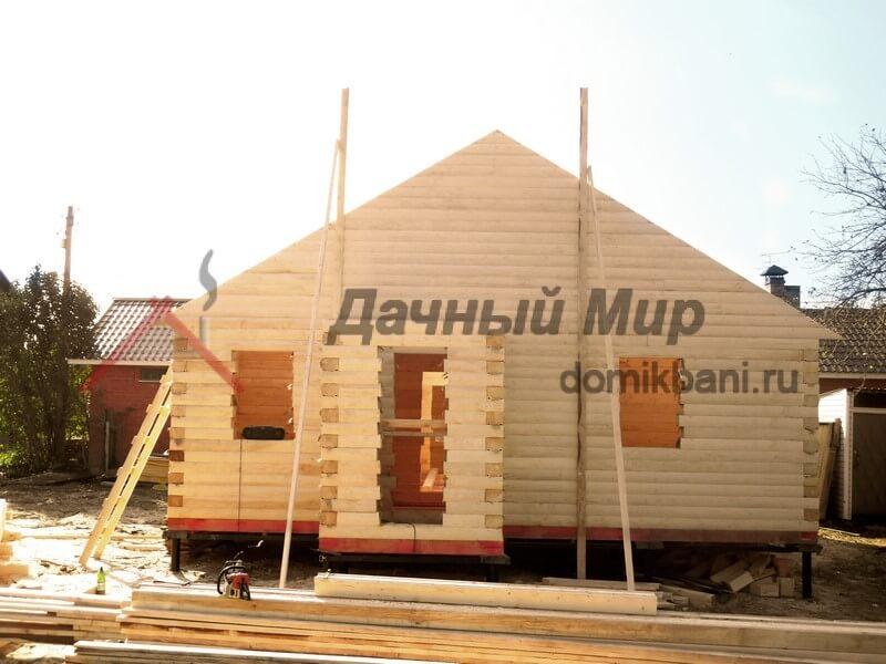 Дом из бруса 100х150 мм в Тверской области