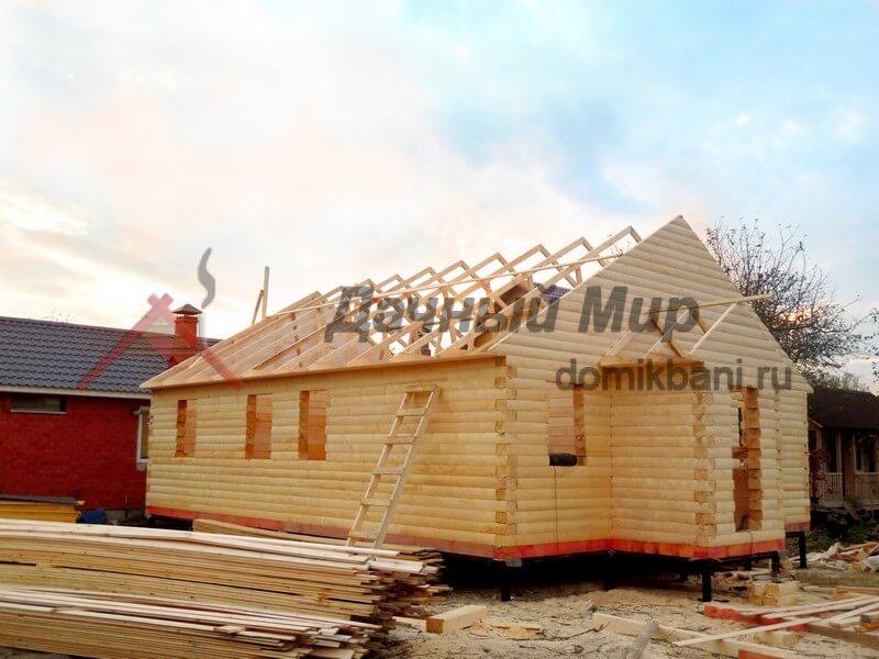 Строительство деревянного дома в Тверской области