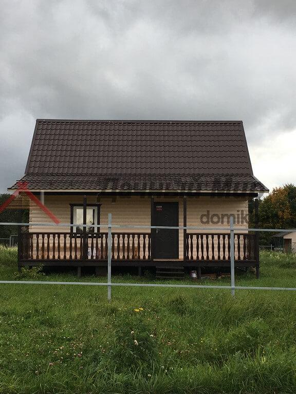 Готовый дом из бруса