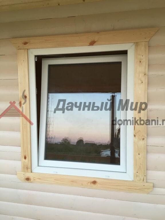 Установленное пластиковое окно