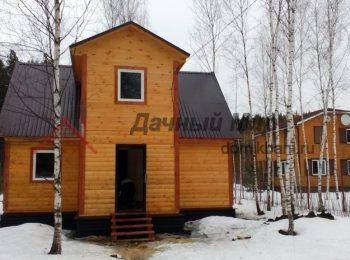 Построен дом из бруса в Жуковском