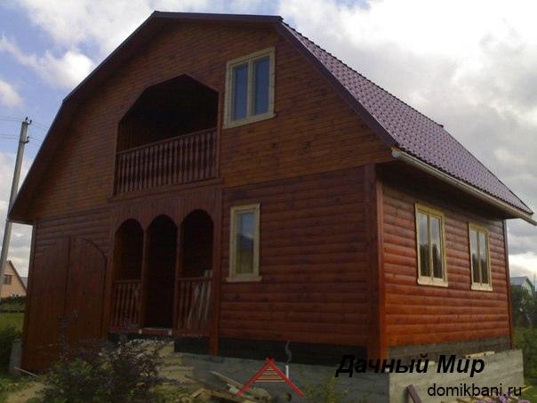 фотография построенного дома в Киришах